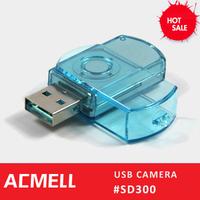 SD300 Super Gadgets mini dvr av input hd camera