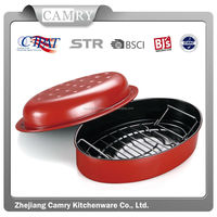 Hot sale oval roaster pan factory sell