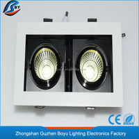 led downlight in factory price www xxx com square 18w led downlighters 9W*2