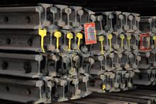 Chinese Standard 8kg/m Light Steel Rails for Mining