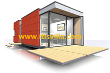 High class movable container house for kiosk