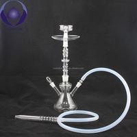 """18"""" borosilicate GLASS 1 Hose Hookah Shisha Pipe al fakher glass Hookah"""