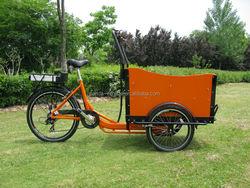 36V 250W 3 wheel electric tricycle /3 wheel electric cargo bike/ trike for sale