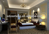 Modern stainless steel Hotel Bedroom Suit Furniture ZH-110