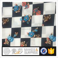 100% Rayon Printed fabric 60*60 90*88 high quality fashion garment fabric