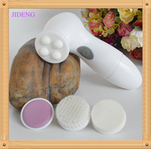 2015 Hot Product 4 in 1 Multifunctional Waterproof Electric Ultrasonic Facial Clean Brush for massage and face beauty