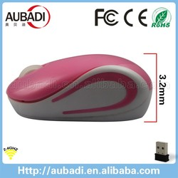2.4Ghz Cute Wirless Computer Mouse with USB Receiver for PC Laptop