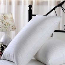 down pillow with fleece in one side