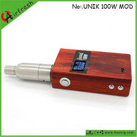 Unik wooden box hot product for 2014 wooden mod starter kit dse601-c e-pipe 618