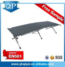 High quality Folding beach aluminum bed with blue color