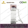 anit-theft magnetic security phone display bracket for furniture counter