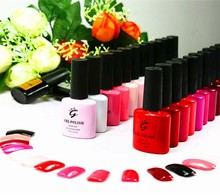 134+ amazing colors gel nail polish for nail art use
