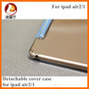 Protective cases PU leather multi-angle stand case for iPad Air 2/1