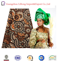 New design african style of100%cotton woven wax prints fabric for wholesale