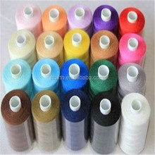 40S/3 5000 yards 100% polyester spun sewing thread from factories with quality ISO9001