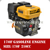 200cc 4 stroke engine with CE and ISO approved