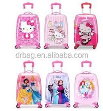 cartoon travel luggage bag kids bag,cute school trolley bag suicase for children