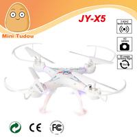 Minitudou 2015 new headless JY-X5 HD camera 2.4G quadcopter can one key return RC drone