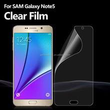 Premium Screen Protective Film For Mobile Phone For Samsung Galaxy Note5 SM-N920A (AT&T)