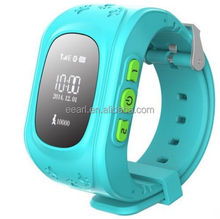 H0T Sale !! 2015 Children Smart watch phone Q50 Kids Tracking GPS watch