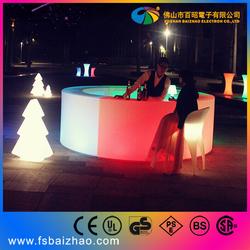 Glow Led Mobile Bar Led Bar Counter commercial bar design