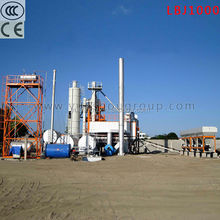 Manufacturer Automatic construction machine hot mix asphalt batching plant with water dust and CE, sell asphalt mixing plant
