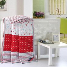 3d printed polyester microfiber filling children quilt, cheap baby quilts