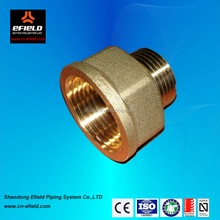 Brass NPT male to female reducing adapter