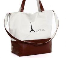 Alibaba hot selling simple canvas women handbags 2014