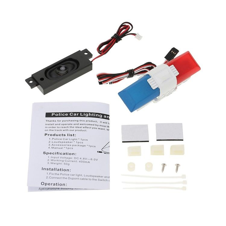 911013-Police Car Lighting and Voice System with 8 Kinds of Flashing Mode for RC Car-2_07.jpg