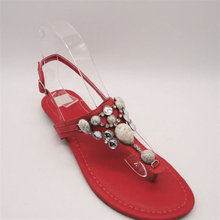 hot sale stylish strips red eva 2011 sandals
