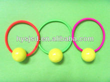 Good quality elastic hair band with ball