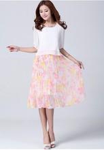 Buen precio de la alta calidad 2015 más nuevo vestido coreano nueva moda de señora Dress
