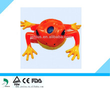 Hot selling novelty TPR LED squeeze frog water ball toy,Squeeze frog fater ball toy,Novelty outlet stress squeeze squeeze frog