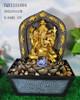 Home indoor water fountain polyresin hindu god fountain