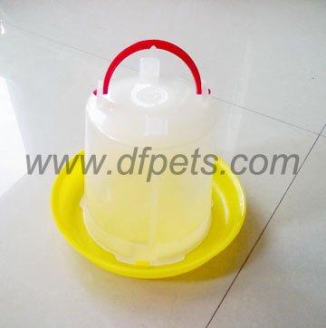 Plástico Waterer 5 litros cubo