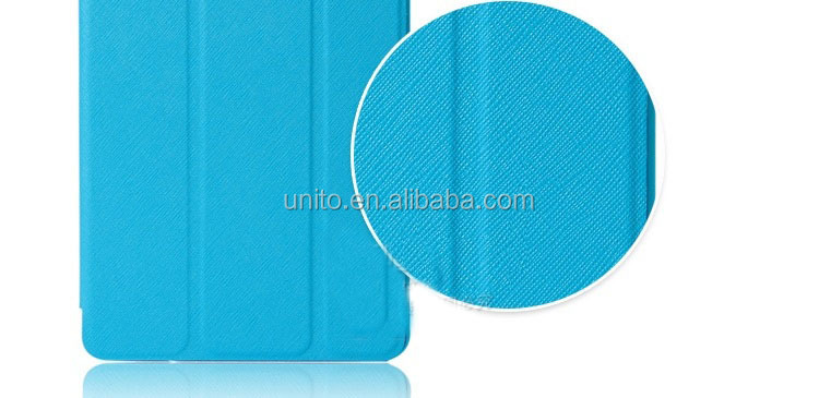 Hot sale Rough stand leather flip smart cover case for ipad mini/ retina mini 2