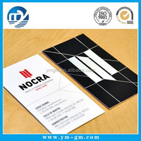 High quality visiting card design made in china