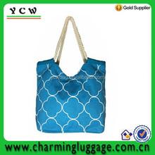 Canvas Cotton Chevron Prints Diaper Bags Gift Bag Wholesale