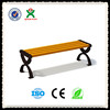 Golden china supplier wooden park bench /beautiful outdoor bench/modern outdoor furniture wooden chairQX-144A
