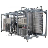 Mobile water factory,8000 liter per hour containerized sea water desalination plant/equipment/machine