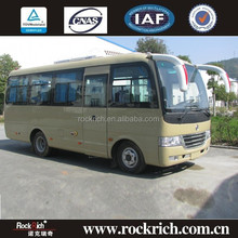 Dongfeng New Brand China Manufacture 6.6m Front Engine Location Luxury Coach Bus
