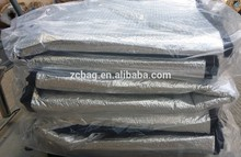 pallet aislamiento de la cubierta de papel de aluminio de la burbuja material de aislamiento térmico a prueba de de coser