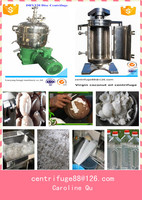 virgin coconut oil centrifuge separator machine hot selling