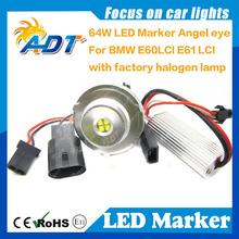 High Power 64W E60 E61 LCI LED Light Angel Eyes C REE Chip