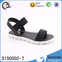 Sandálias por atacado sapatas lisas ocasionais senhoras bonito e barato