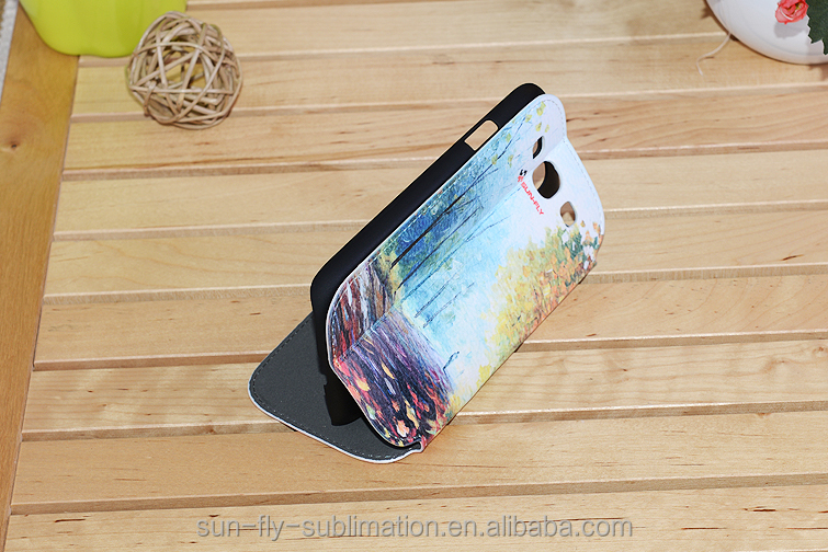 Leather phone case for Samsung S3, 3D sublimation phone case, blank phone case for sublimation printing, phone case blank