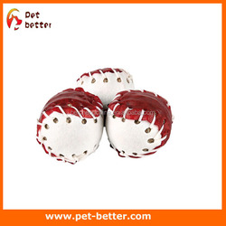 Rawhide with Munchies Filling Dog Snack Balls as dogs toy china manufacturer