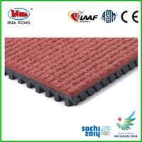 9mm 13mm prefabricated synthetic rubber runway surfaces for outdoor sports areas