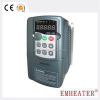 Plastic housing 3-phase output type AC/DC/AC fan motor 220V 5.5kw single VFD